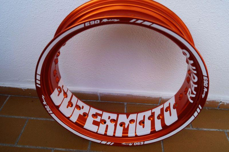 Felgenaufkleber Felgenrandaufkleber Wheelsticker Supermoto