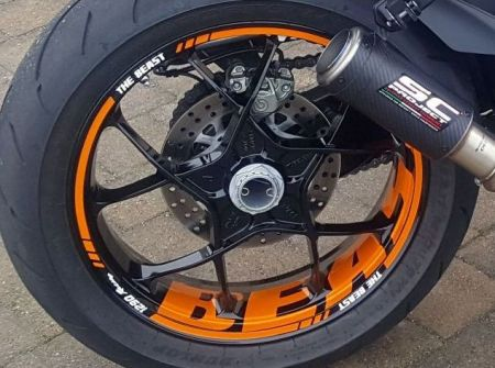 wheel stickers for supermoto rims