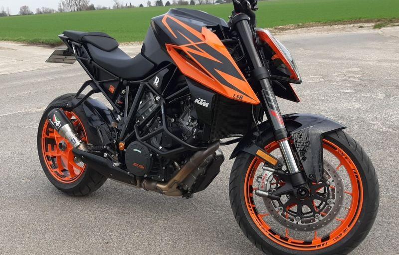 Felgenaufkleber Felgenrandaufkleber Wheelsticker KTM Superduke 1290 BEAST Orange
